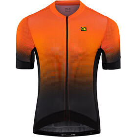 Alé Cycling PRS Dots SS Jersey Herren black-flou orange